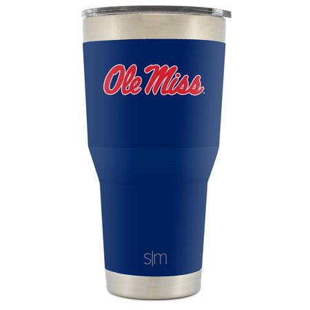Simple Modern Ole Miss 30oz Cruiser Tumbler - Vacuum Insulated Stainless Steel Travel Mug - University of Mississippi Rebels Tailgating Hydro Cup College Flask