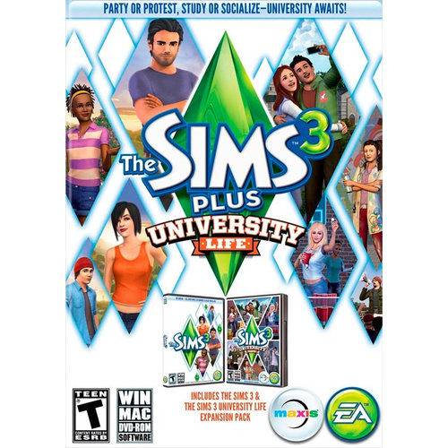 The Sims 3 Plus University (PC)