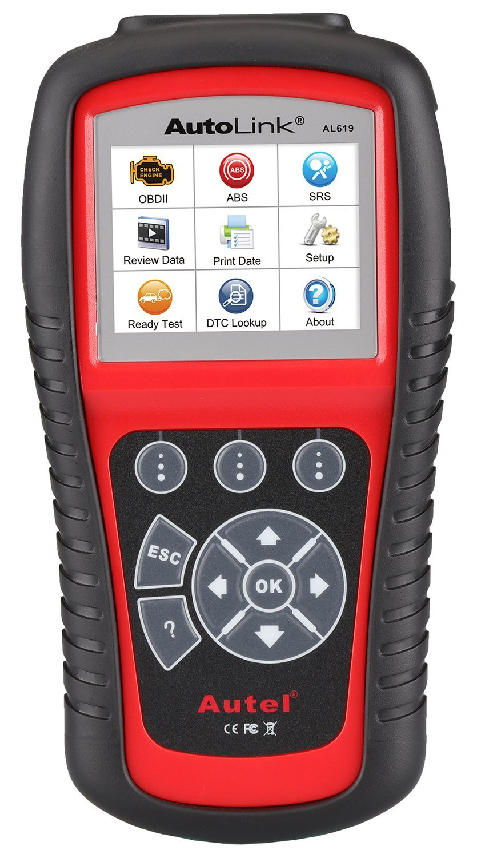 Autel AL619 Autolink Engine,Transmission,ABS,SRS Auto OBD2 Scanner Car Code Reader Automotive Diagnostic Tool by Autel
