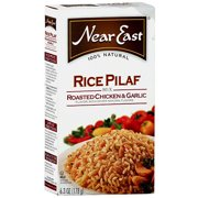 Near East Roasted Chicken & Garlic Rice Pilaf Mix, 6.3 oz (Pack of 12)