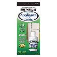 Rust-oleum Appliance Touch Up Paint 0.6 oz. Black High Gloss   213174