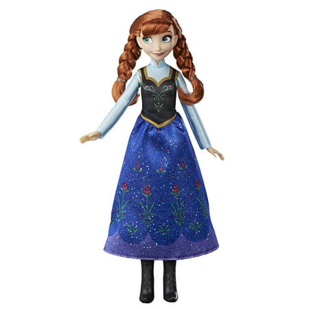 Disney Frozen Anna Classic Fashion Doll for Ages 3 and (Disney Soft Doll)