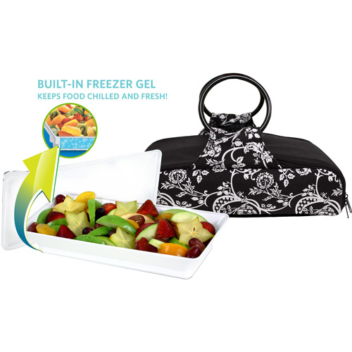Fit & Fresh Carrier Bag with Large Platter