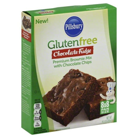 (4 Pack) Pillsbury Gluten Free Chocolate Fudge Brownie Mix, (Chocolate Strawberry Brownie)
