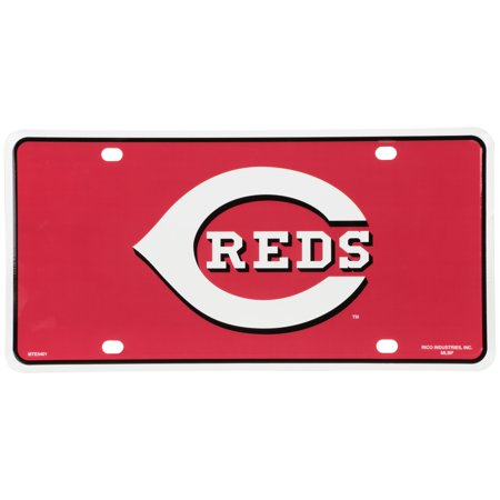 - Rico Industries Cincinnati Reds™ Laser Cut License Plate