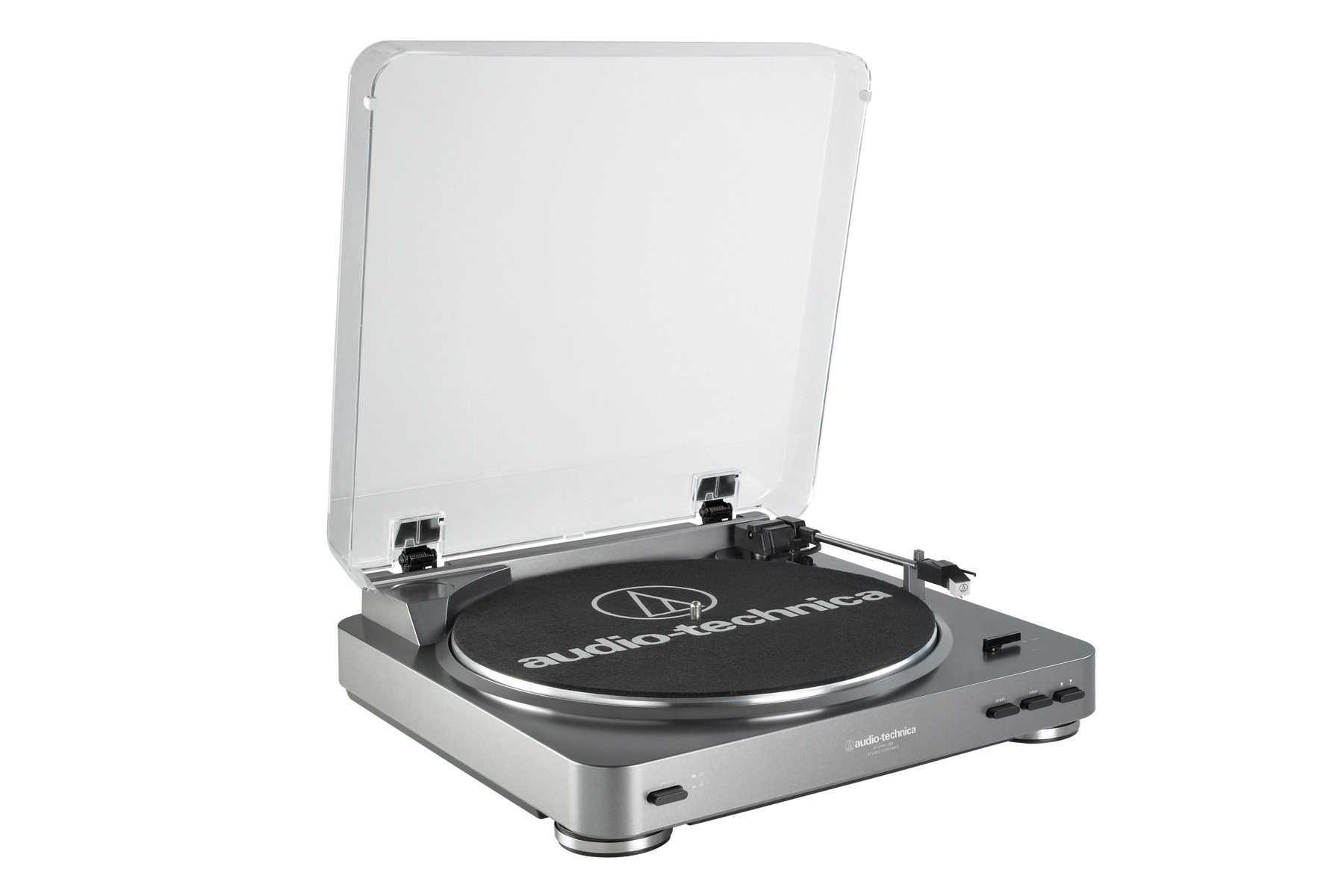 Audio-Technica AT-LP60 Turntable w  Knox Vinyl Brush Cleaner & Cleaning Kit by Audio-Technica