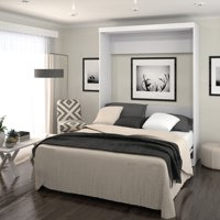 Pur by Bestar Queen Wall Bed in White
