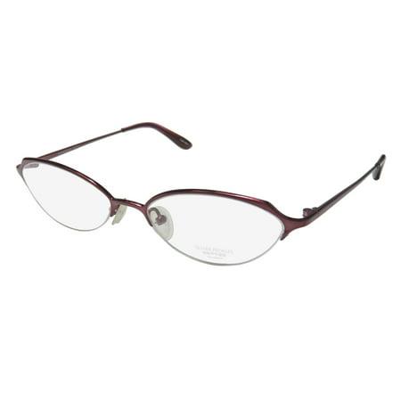 181189034e New Oliver Peoples Dulcette Womens Ladies Designer Half-Rim Titanium Merlot  Half-rim Hip Titanium Frame Demo Lenses 51-17-133 Eyeglasses Eyeglass Frame  ...