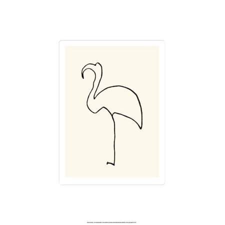 Le Flamand Rose Serigraph By Pablo Picasso - -