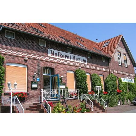 Canvas Print Friesland Milk Dairy Harbhymborler Craft Germany Stretched Canvas 10 x 14