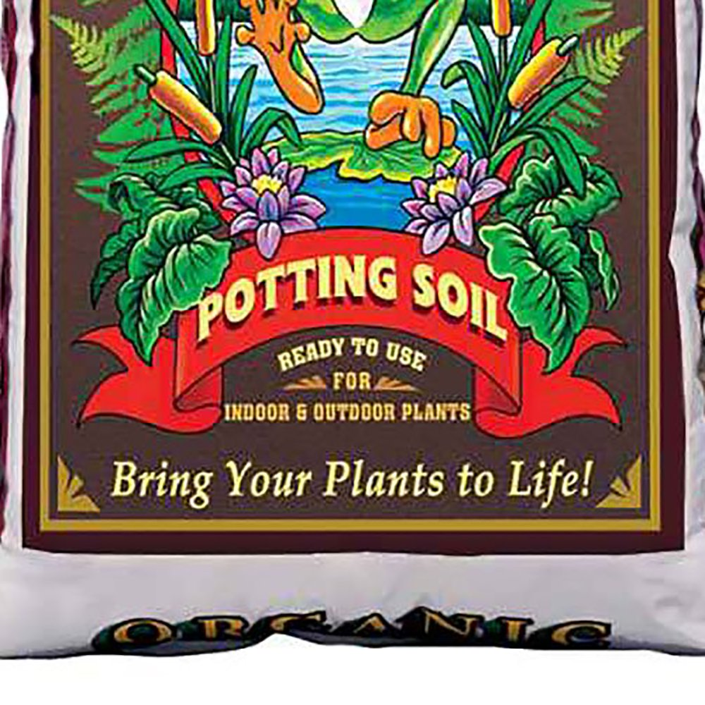 FoxFarm Ocean Forest 6.3-6.8 pH Potting Soil Mix and Happy Frog Potting Soil Mix
