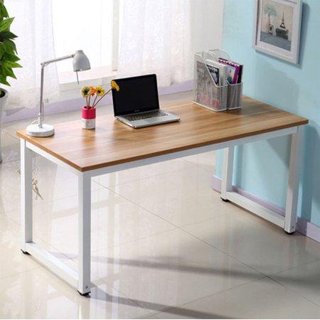 Zimtown Office Desk Decent High Strength Wooden Computer Desk office furniture Oak