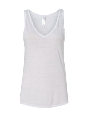 32e9480a Product Image Bella + Canvas T-Shirts Women's Flowy V-neck Tank 8805