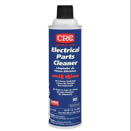 CRC 02180 Electrical Parts Cleaner, 19 oz.