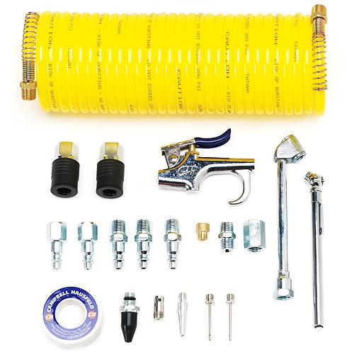 Campbell Hausfeld 20-Piece Pneumatic Accessory Kit