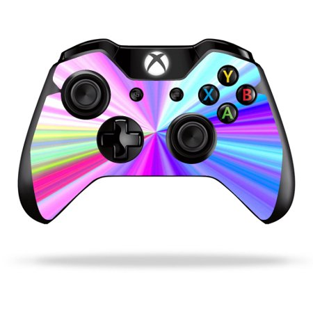 Skin Decal Wrap for Microsoft Xbox One/ One S Controller sticker Rainbow Zoom
