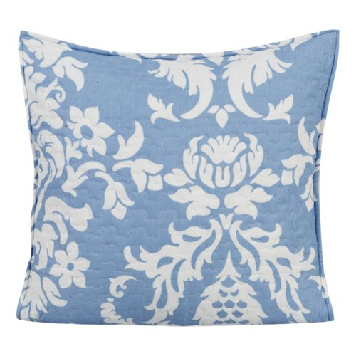 DaDa Bedding Enchanted Breeze Quilted Cotton Pillow Cover (Set of 2)