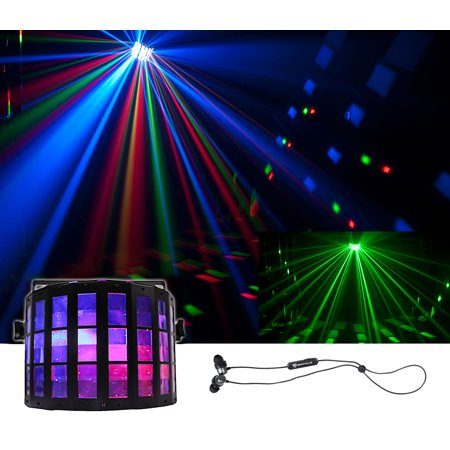 Chauvet DJ Mini Kinta IRC DMX RGBW Derby Club Stage Effect Beam