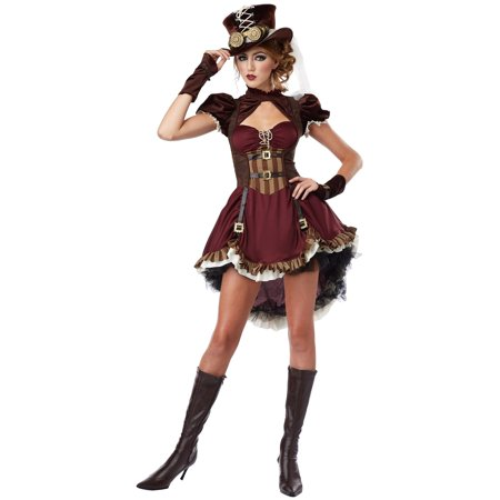 Steampunk Girl - Naked Steampunk Women