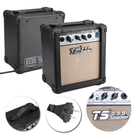Zimtown GT 10W Electric Guitar Amp Amplifier Speaker with (Best Guitar Amp Brands)