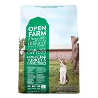 Open Farm Grain-Free Turkey & Chicken Recipe Cat Food, 4 lb. Bag