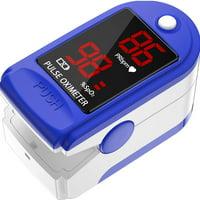 Fingertip Pulse Oximeter Blood Oxygen Meter SpO2 Monitor, Blood Oxygen Saturation Monitor SpO2 Level Heart Rate Monitor, OLED Digital Display