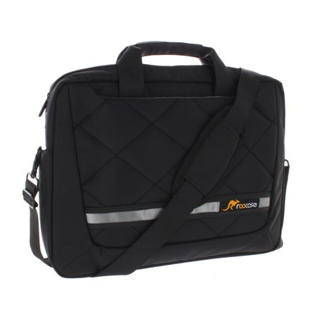 15.6 Laptop Case, 15.6 Laptop Case, roocase 15.6 Inch Deluxe Laptop Case for Apple MacBook / Acer / Asus / Samsung / Google Laptop and Notebook