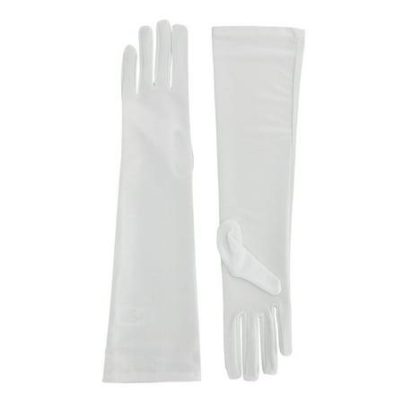 Elbow Length Formal Bridal Gloves