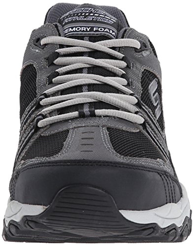 06bca6b602c6 Skechers - 50125 NVY Navy EWW 4E Wide Width Skechers Shoes Men Memory Foam  Leather Sneaker 50125EW4NVY - Walmart.com