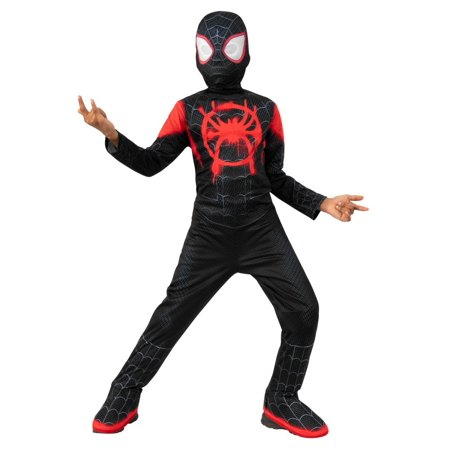 Black Pug Spider Costume (Spider-Man Miles Morales Spider Man Child)