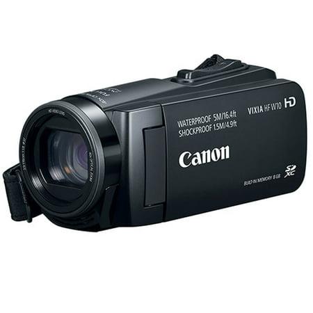 Canon HFW10 Vixia HF W10 Waterproof Camcorder