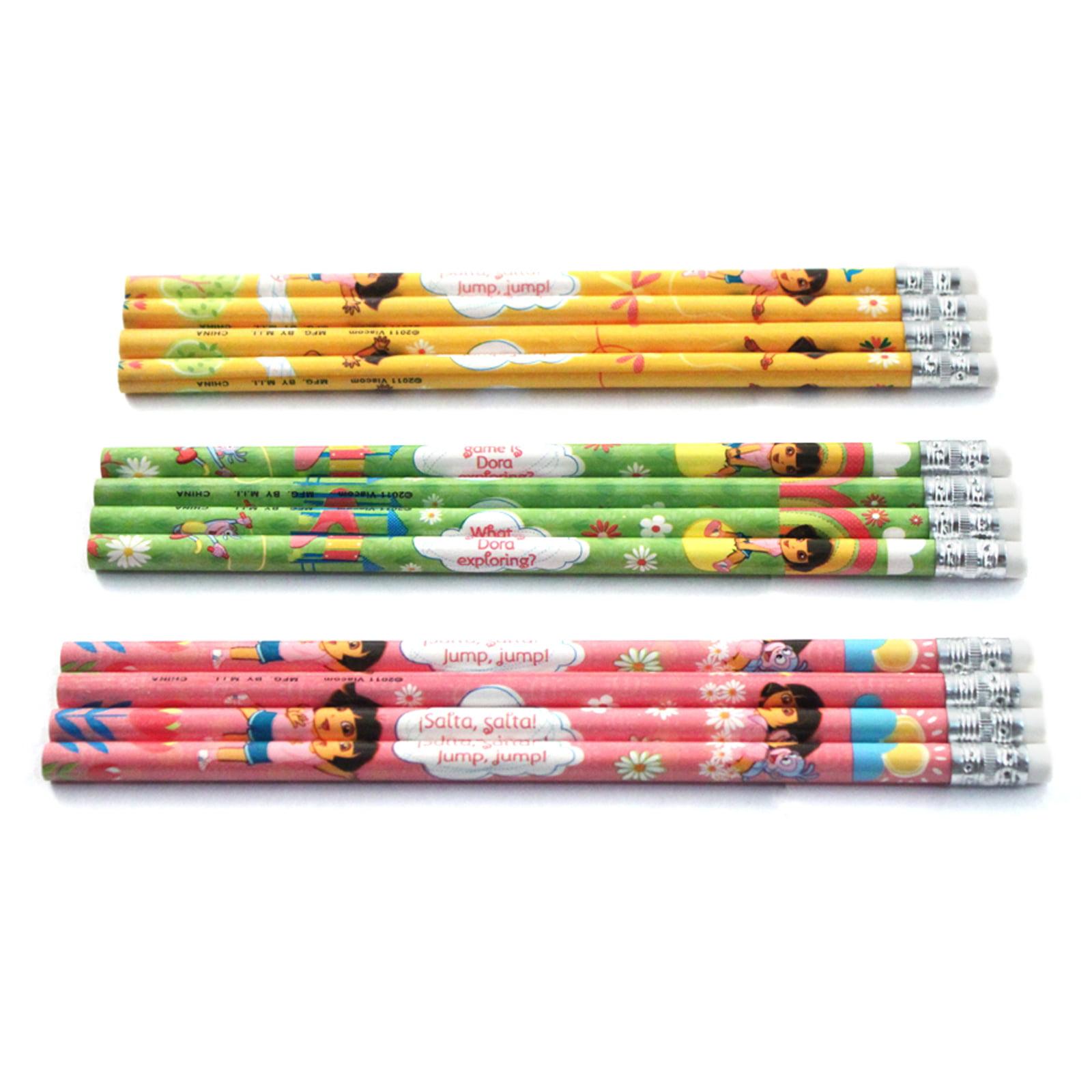 Nick Jr. Dora The Explorer Kids Number 2 Pencils 12 Pack by Nickelodeon