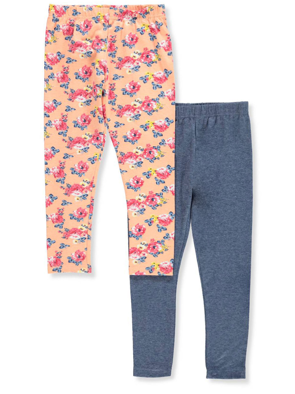 Pink Velvet Girls' 2-Pack Leggings