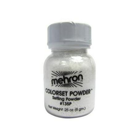 Colorset Powder -.25oz. Mehron Color Set Translucent Finishing Makeup for $<!---->