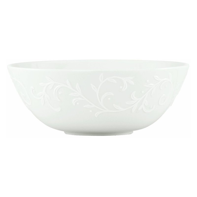 Lenox Opal Innocence Carved Medium Serving Bowl