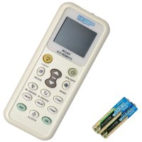 HQRP Remote Control Compatible with Sanyo KS1822, rcs-ks09, KS0911, KS1211W, KS2422, KS3622, KS2412W, KS3012W, TS3622, XS2422, 26PEK1U6, KMH1S0772 Air Conditioner Controller