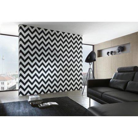 B W 3 Black And White Look Black White Wallpaper Roll Modern Wall Decor Walmart Canada