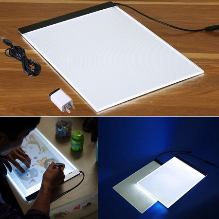 Tracing Light Box, A4 Led Ultra-Thin Usb Powered Art Lighting Tracing Drawing Box Copy Board For Artists Drawing Sketching