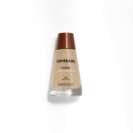 COVERGIRL Clean Liquid Foundation, 125 Buff Beige