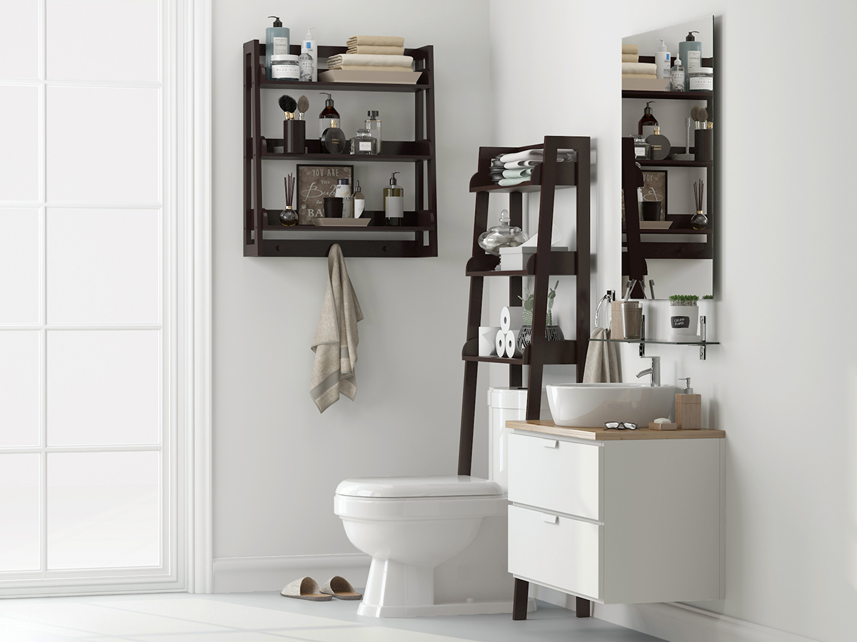 See More Hot 100 Bathroom Shelves