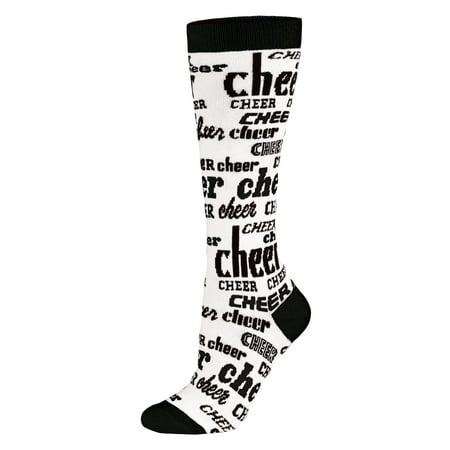 Girls Smock - Chassé Girls Chassé® Knee-High Nothing But Cheer Sock-