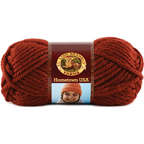 Lion Brand Yarn Hometown USA 3 Pack 100% Acrylic Yarn
