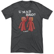 Gumby U Mad Bro Mens Tri-Blend Short Sleeve Shirt