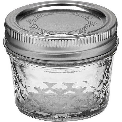 Ball 24-Count 4-Ounce Jelly Jars with Lids and Bands