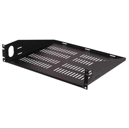 VIDEO MOUNT PRODUCTS ER-S2UV Vented Rack Shelf,2 Space,For 18C875