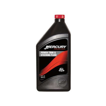Marine Steering (OEM Mercury Marine Power Trim & Steering Fluid 32oz 92-858075K01 )