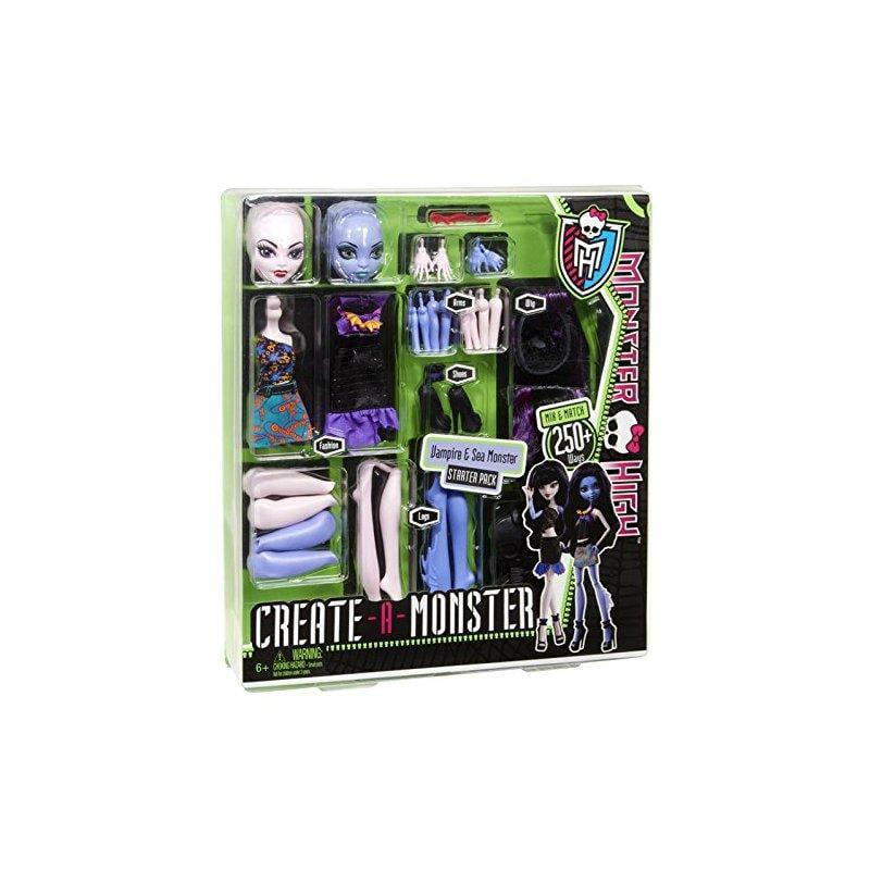 Monster High Create a Monster Witch / Cat Girl Set