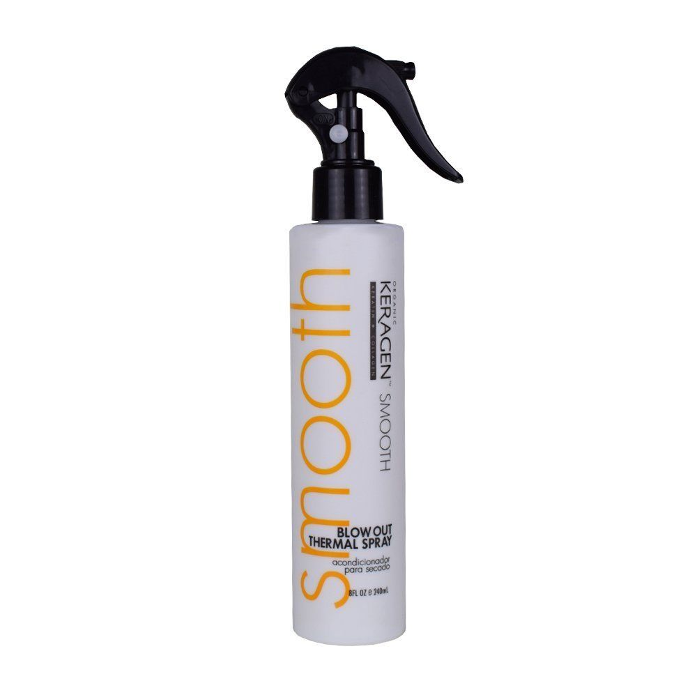 Organic Keragen Smooth Blow Out Thermal Spray 8 oz