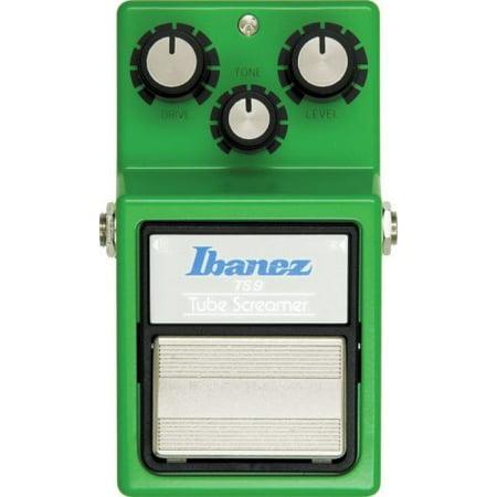 Ibanez TS9 Tube Screamer Overdrive Guitar Effects Pedal (Open Box) Ts9 Tube Screamer Effects Pedal