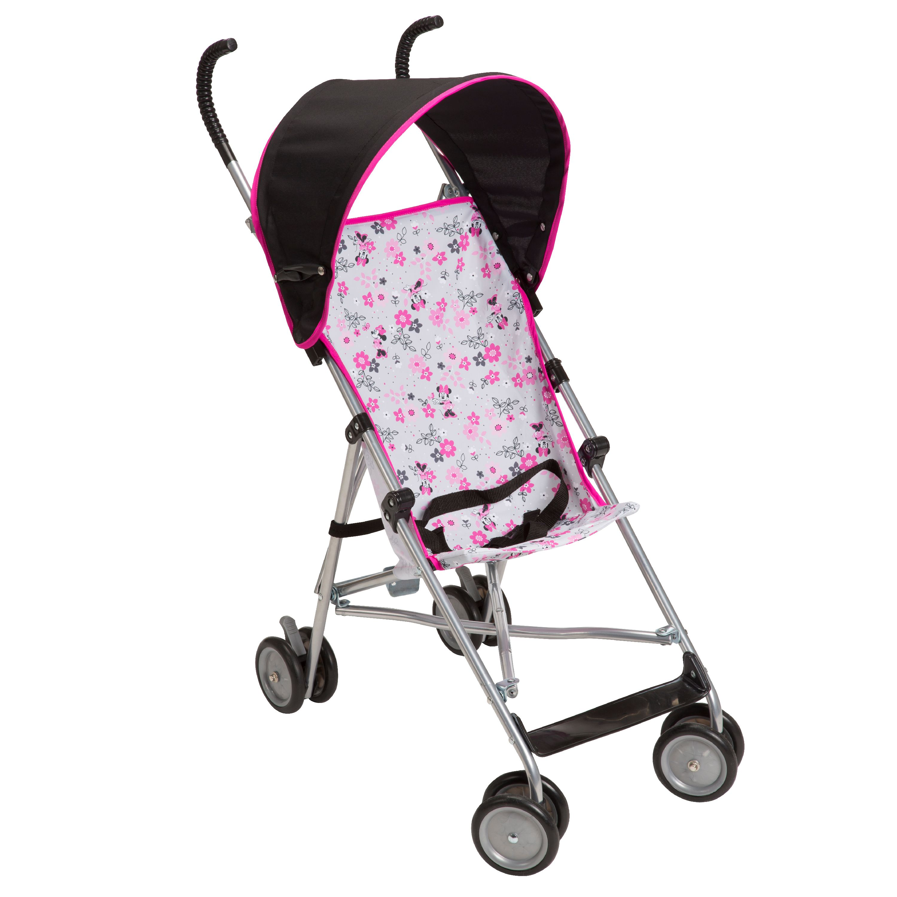 Disney Baby Umbrella Stroller with Canopy, Minnie Garden Delight